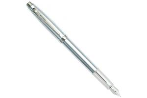 Ручка перьевая Sheaffer Gift Collection 100 Brushed Chrome NT FP M Sh930604 серебристый