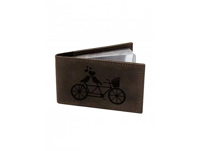 продам Визитница Тандем М01 коричневая SKL47-177615 бу в Киеве