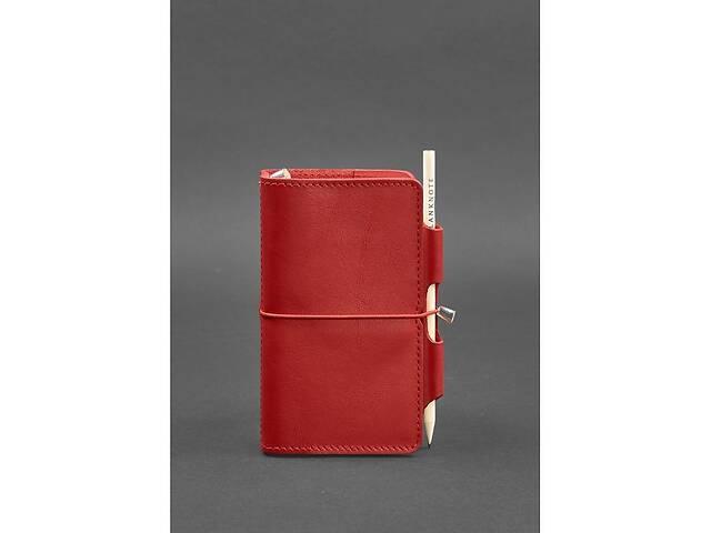 Женский кожаный блокнот (Софт-бук) 3.0 красный BlnkntBN-SB-3-mi-red- объявление о продаже  в Киеве