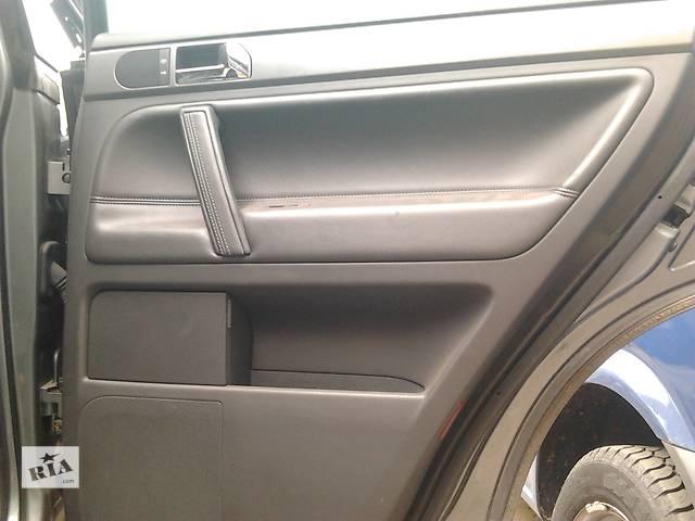 бу  Карта правой задней двери Volkswagen Touareg Фольксваген Туарег 2003г-2009г. в Ровно