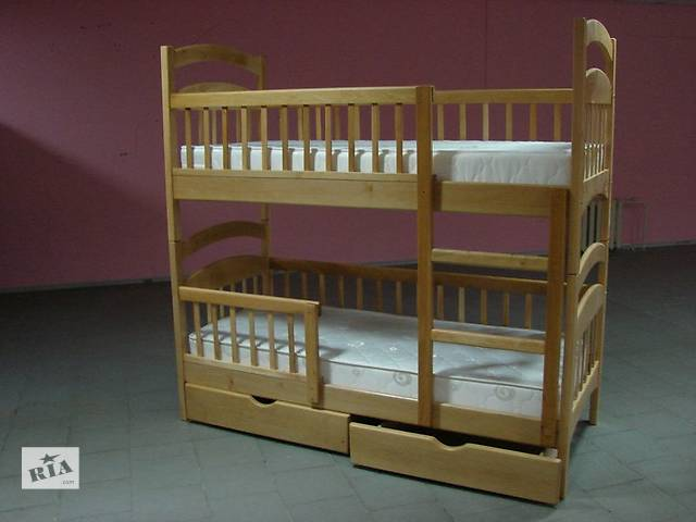 Карина Люкс Стандарт - двухъярусная кровать трансформер в наличии с ящиками- объявление о продаже  в Днепре (Днепропетровск)