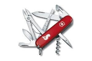Ніж складаний Швейцарська Victorinox Swiss Army Angler червоний VctrnxVx13653.72