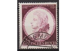 1941 - Рейх - 150 лет смерти Моцарта Mi.810