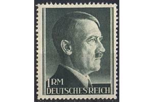 1942 - Рейх - Стандарт - Гитлер 1 RМ Mi.799 B **