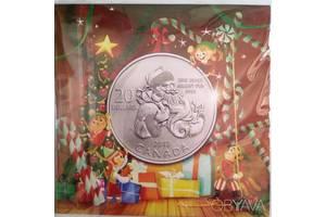 20 доларів Срібло 2013 Санта Клаус Канада Подарункова упаковка