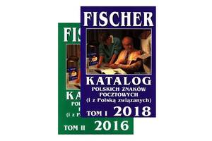 2018 - Fischer - Каталог польских марок - 2 тома - на CD