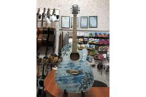 (2209) Акустическая Гитара LeoTone «Джинс»