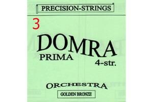 3-я струна (0,61 мм) Домра Прима 4-струнна Поштучно