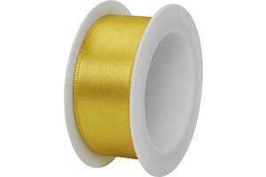 Атласная лента Stewo 25 мм х 3 м Золотистый (2583410280)