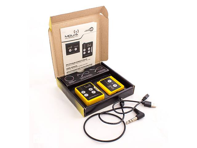 купить бу Беспроводная аудиосистема MDLink (Для металлоискателя) Новая. Бесплатная доставка в Запорожье