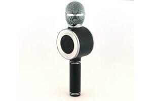 Беспроводной микрофон караоке Ws-668, black