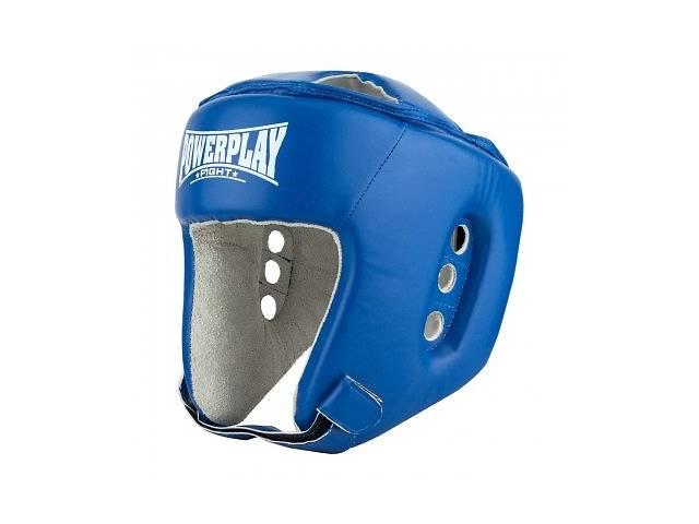 бу Боксерский PowerPlay шлем тренировочный cиний S 3084 SKL24-190067 в Киеве