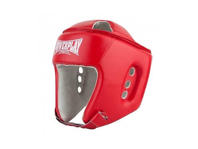 Боксерский шлем тренировочный PowerPlay красный XL 3084 SKL24-190072- объявление о продаже  в Киеве