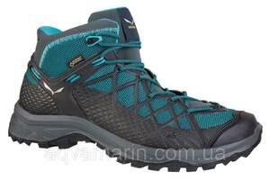 Ботинки Salewa WS Wild Hiker Mid GTX, Синий (39)