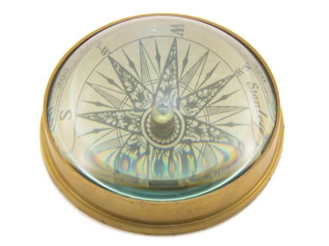 Бронзовый компас морской