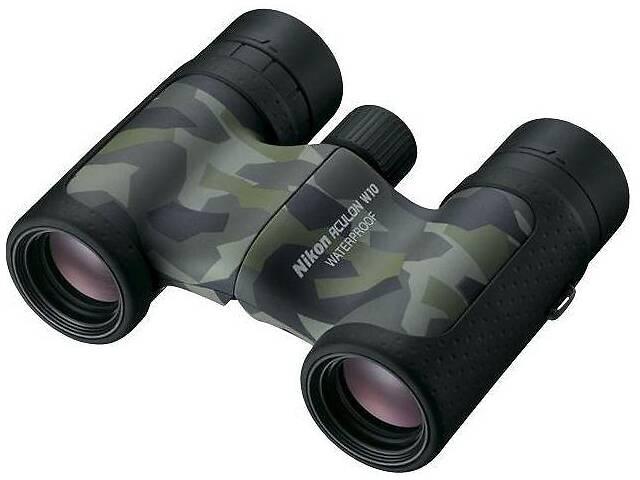 купить бу Бинокль Nikon Aculon W10 10X21 камуфляж в Киеве