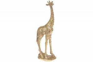Декоративная фигура Жираф, 35.5см, цвет - золотой SKL11-276177