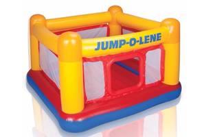 Детский надувной батут-игровой центр Intex 48260 (174*174*112 см)