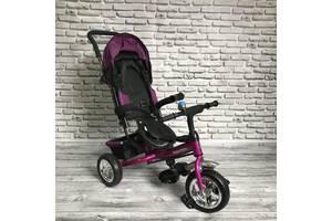 Детский трехколесный велосипед 5588 ФИОЛЕТОВЫЙ