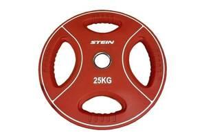 Диск для штанги Stein Поліуретановий 2,5 кг (DB6092-2.5)