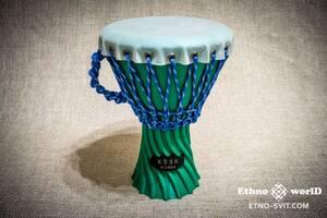 Джембе 8& quot; ручной работы, плетеный, армированные веревки, замечательный звук. НОВЫЙ! Изготовление барабанов, перкуссии и аксессуаров