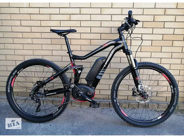 "продам Электро велосипед E-bike Haibike Xduro FS RS 27,5"" Bosch 350W. Срочно! бу в Сумах"