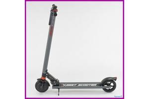 """Электросамокат """"Best Scooter"""" диаметр колес 6.5"""" Серый Электроскутер"""