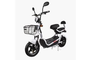 Электрический Скутер CITY 350W/48V Новый Белый