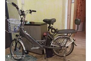 Електричний велосипед з сертифікатом.