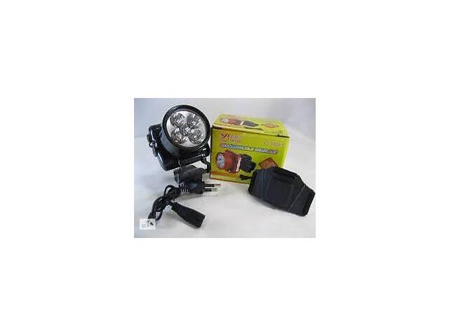 Фонарь налобный акумуляторный Luxury 1829, 5LED (Yajia)
