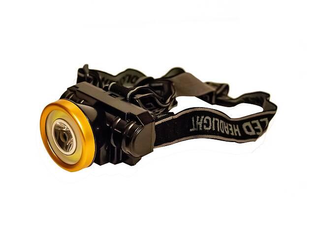 бу Самый яркий и мощный универсальный налобный LED фонарь на голову для рыбалки Headlight AS 0507 аккумуляторный в Харкові