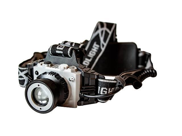 Самый яркий и мощный универсальный налобный LED фонарь на голову для рыбалки Headlight P-1005 аккумуляторный- объявление о продаже  в Харкові