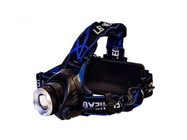 купить бу Самый яркий и мощный универсальный налобный LED фонарь на голову для рыбалки  Headlight Q19 аккумуляторный в Харкові