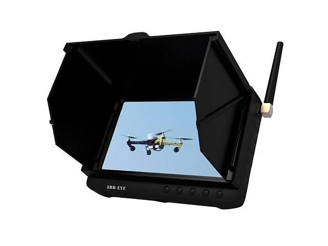 бу FPV монитор rc приемник видеосигнала от беспроводных камер 3RDEE TE981H (100462) в Києві