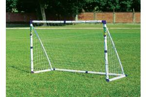 Футбольные ворота Outdoor-play. Стальные и поливинилхлорид