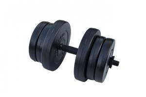 Гантель разборная композитная RN-Sport 20 кг - 1 шт + Эспандер