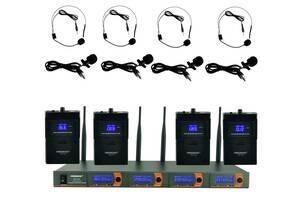 Гарнитура FREEBOSS FB-V04H4 Радиомикрофон петличный микрофон