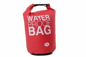 Гермомешок Weatro Waterproor bag 10L Цвет Красный (8-4062-5)