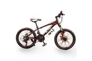 Гірський алюмінієвий Підлітковий Велосипед S300 BLAST-БЛАСТ Діаметр коліс 20 дюймів Рама 11 Японія Shimano