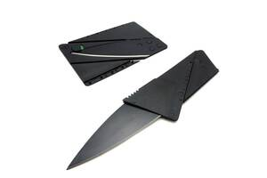 Кишеньковий ніж CardSharp Чорний (44377)