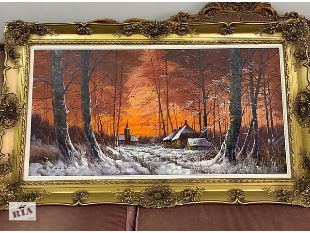 купить бу Картина Антикварная из Бельгии в Ивано-Франковске