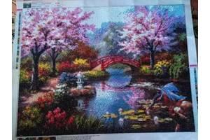 Картина «Ботанический сад» алмазная мозаика