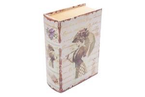 """Книга-сейф BST 490159 22×16×7 см разноцветная """"Девушка с зонтом"""" Art. pan--842252766"""