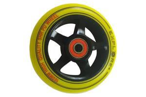 Колесо Explore Alu 100mm, жёлтый
