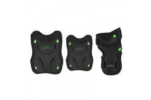 Комплект защитный Nils Extreme H407 Size M Black/Green