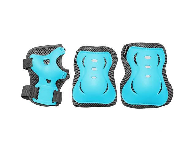 купить бу Комплект защитный SportVida SV-KY0008-L Size L Blue/Grey  в Украине