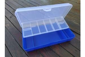 Коробка для снастей 2-х ярусна 21 10.5 4.3 см