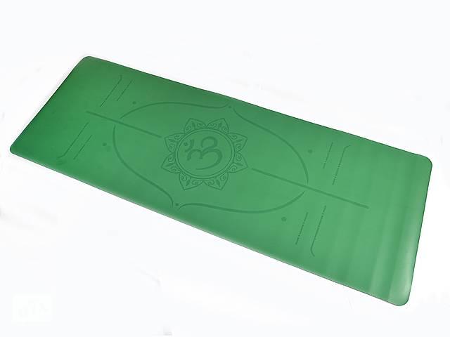 бу Коврик для йоги PU 183 х 68 х 0,4 см с разметкой в Одессе