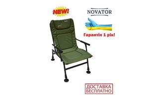 Кресло карповое для рыбалки и кемпинга Novator SF-1 усиленное складное