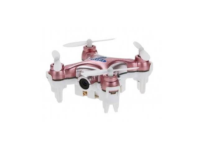 купить бу Квадрокоптер нано Wi-Fi Cheerson CX-10W с камерой розовый SKL17-139775 в Києві